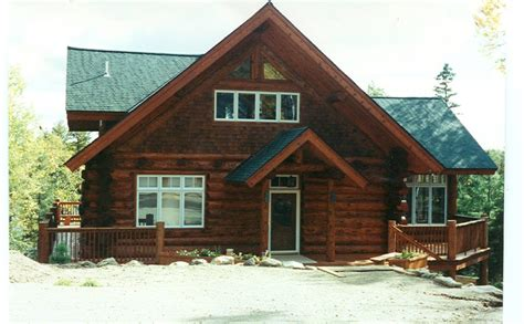 cedar log cabin stained cedar log cabin huisman concepts