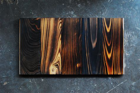 Shou Sugi Ban charred wood products by Delta Millworks in