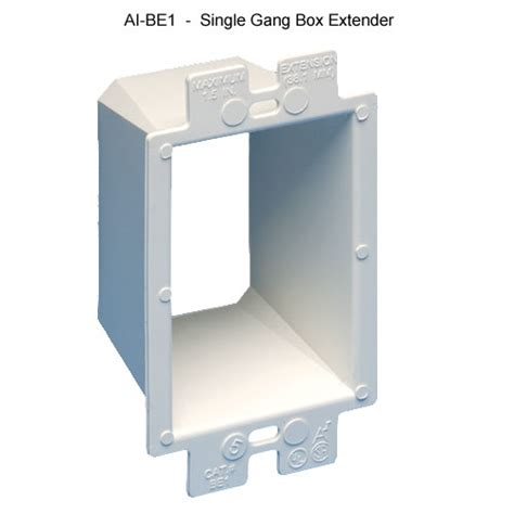 lowering a ceiling box attached to an adjustable fixture