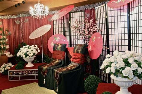 Japanese or Chinese themed weddings decorations   asian