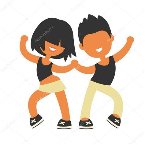 imagenes de niños jugando y bailando deportiva los ni 241 os y ni 241 as bailando juntos vector de