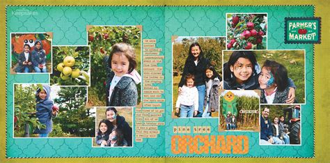 scrapbook layout magazine creating keepsakes scrapbook sketches september october