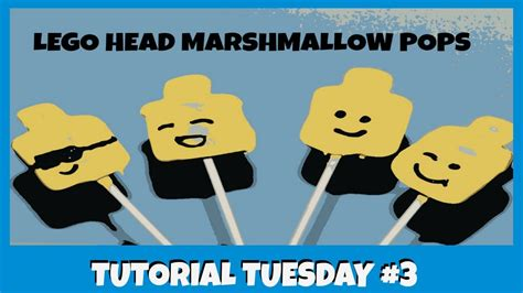 lego ghost tutorial tuesday youtube how to make lego head marshmallow pops tutorial