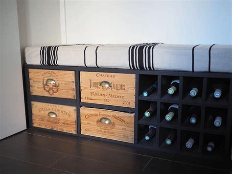 Fabriquer Meuble Caisse Vin by R 233 Cup Fabriquer Un Meuble Avec Des Caisses De Vin
