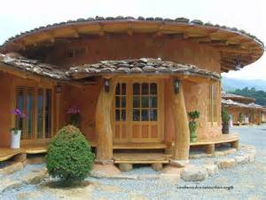 build homes korean cordwood cobwood soil houses cordwood