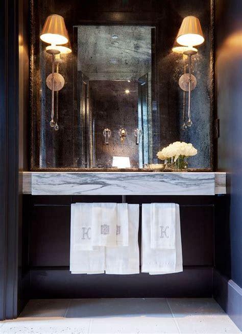 framed bathroom mirrors powder room pinterest mirror powder rooms powder and floating vanity on pinterest