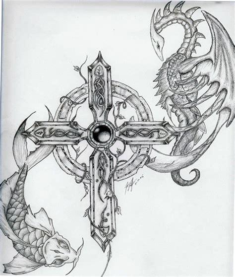 celtic cross by trswar on deviantart