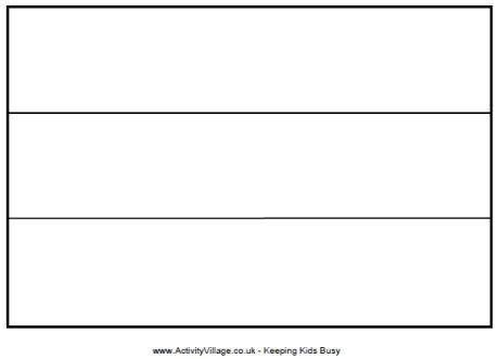 germany flag colouring page