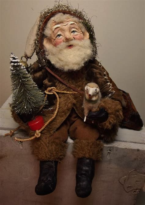 Handmade Santa Claus Dolls - 17 best images about handmade santas on