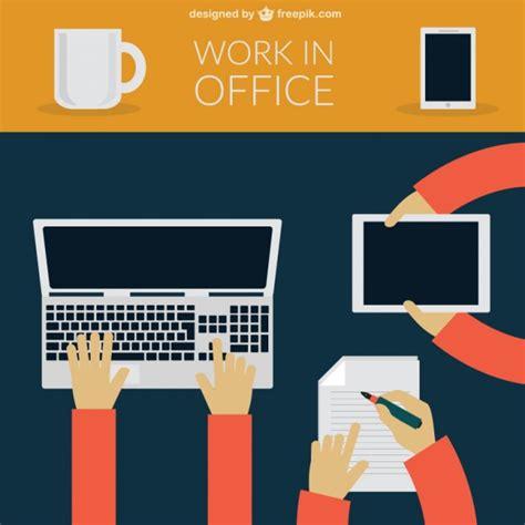 lavoro d ufficio lavoro d ufficio scaricare vettori gratis