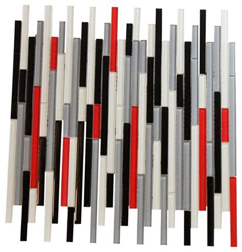 Redwhite The Jersey Grey autostrata quot white black grey tile glass mosaic tiles bath bar with grey bathroom tile tsc