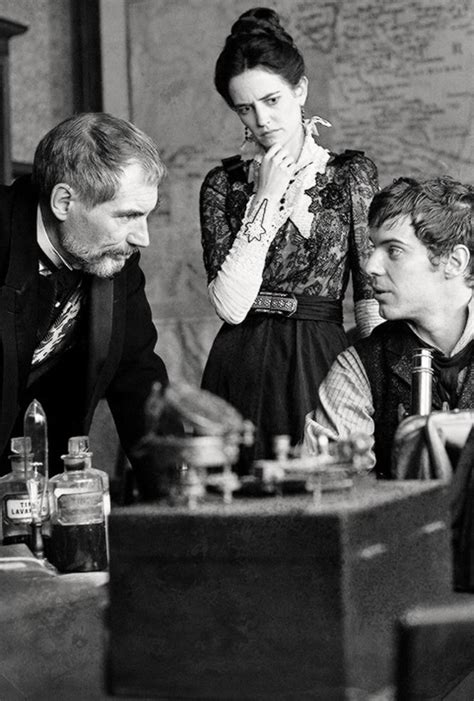 timothy dalton eva green eva green with timothy dalton and harry treadaway penny
