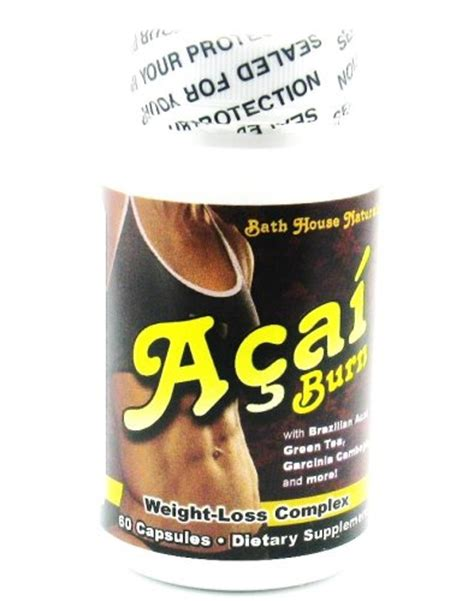 Berry Detox Diet by Acai Berry Burn Weight Loss Detox Diet 60 Capsules 14 95