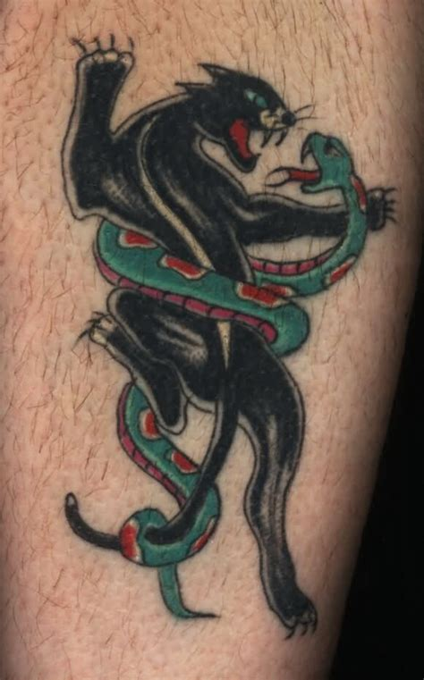 black cobra tattoos cobra snake and black panther