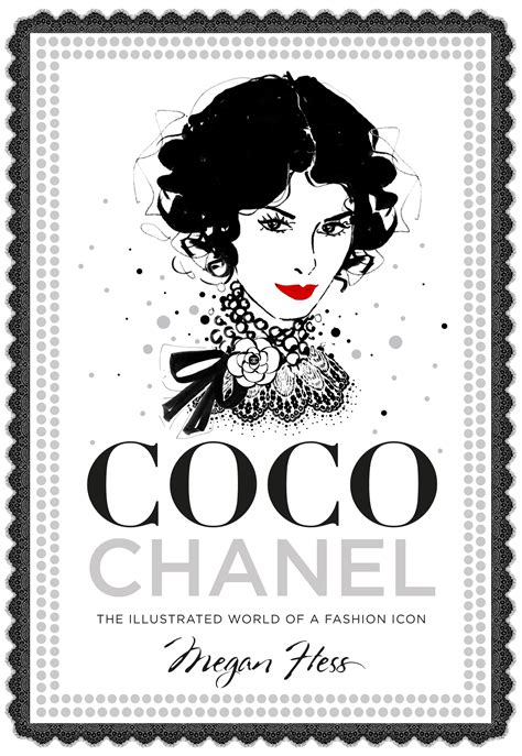 libro fashion a history from review coco chanel the illustrated world of a fashion icon megan hess