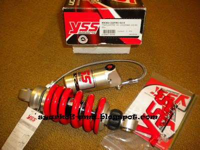 Shockbreaker Yss Yamaha Jupiter Mx Mono Shock 205mm syark performance motor parts accessories shop est since 2010 new yss monoshock mx
