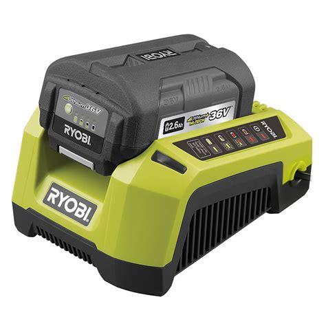 ryobi 7 2 v battery charger bunnings ryobi lithium 36v ryobi 36v 2 6ah battery and