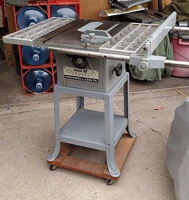 rockwell model 9 table saw rockwell delta deluxe 9 inch table saw complete works