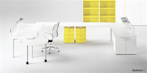 White Office Desks Uk White Office Desks Meta 4 Person U Shaped Desk Fantoni Uk
