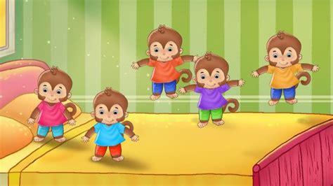 5 monkeys jumping on the bed five little monkeys jumping on the bed poems for kids