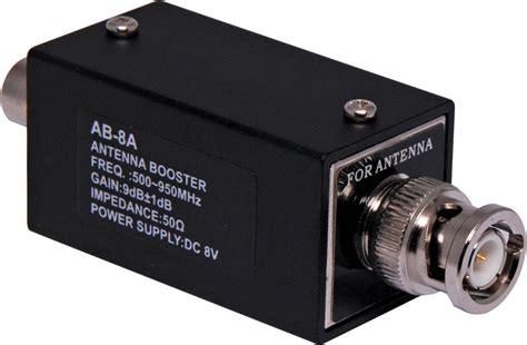 Mic Uhf uhf wireless mic system antenna booster bnc ebay