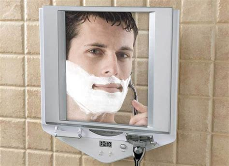 Do You Shave Before Or After You Shower by Fogless Mirror Lets You Shower Before You Shave Gearfuse