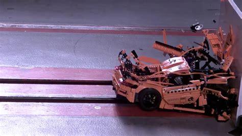 Porsche 911 Crash Test by Porsche 911 Gt3 Rs De Lego Encara Crash Test Youtube