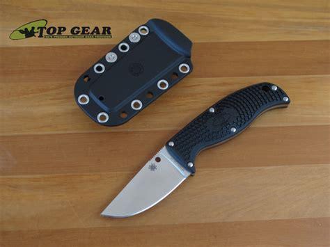 spyderco clip spyderco enuff clip point blade knife with edge fb31cpbk
