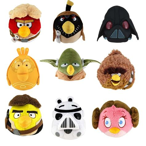 Angry Bird Starwars Limited Edition angry birds wars 8 quot plush soft collectible special edition ebay