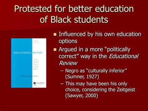 better education ppt francis cecil sumner 1895 1954 powerpoint