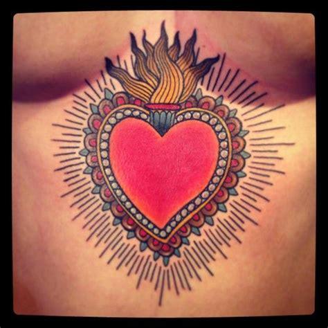tattooed heart grant 25 best ideas about sacred heart tattoos on pinterest