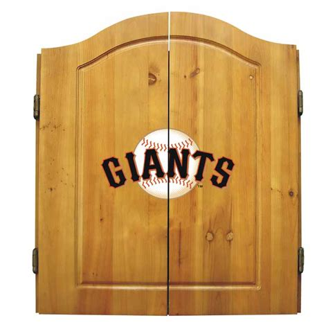Sf Giants Bar Stools by San Francisco Giants Dart Cabinet