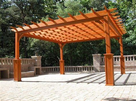 wood pergola decks patios pergolas southern exposure sunrooms