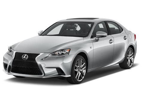 image 2016 lexus is 350 4 door sedan rwd angular front