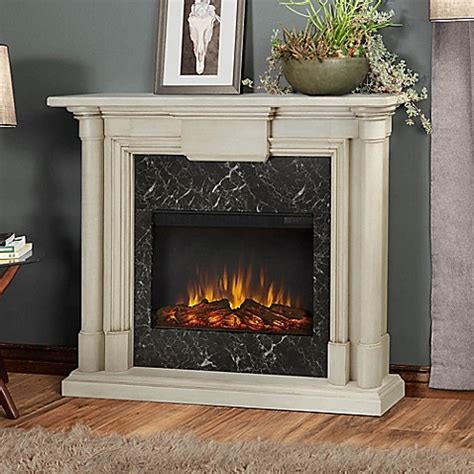 electric fireplace bathroom real flame 174 maxwell electric fireplace bed bath beyond