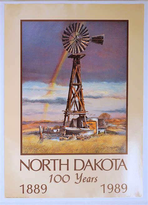 poster windmill north dakota heritage center state museum