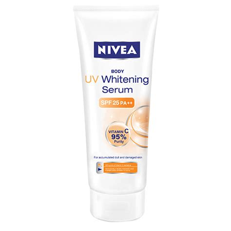 nivea uv whitening serum spf 25