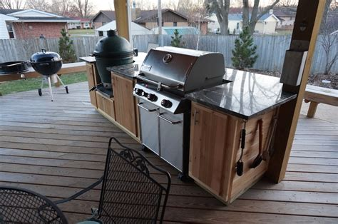 outdoor kitchen grills weber 1400 home and garden photo