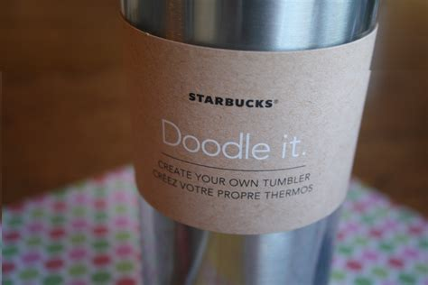 starbucks doodle it mug a gift idea for the tween crowd echoes of laughter