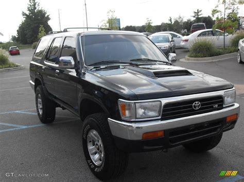 1994 Toyota 4 Runner 1994 Black Toyota 4runner Sr5 4x4 15630203 Photo 4