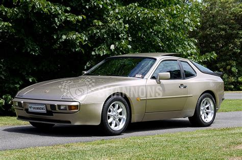 porsche 944 gold sold porsche 944 coupe auctions lot 21 shannons