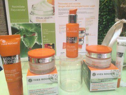 Serum Wajah Dari Ponds yves rocher rilis serum dari tumbuh tumbuhan untuk cegah penuaan