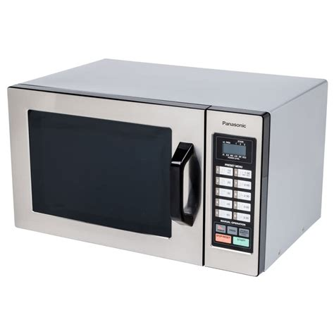Oven Microwave Panasonic panasonic ne 1054f stainless steel commercial microwave