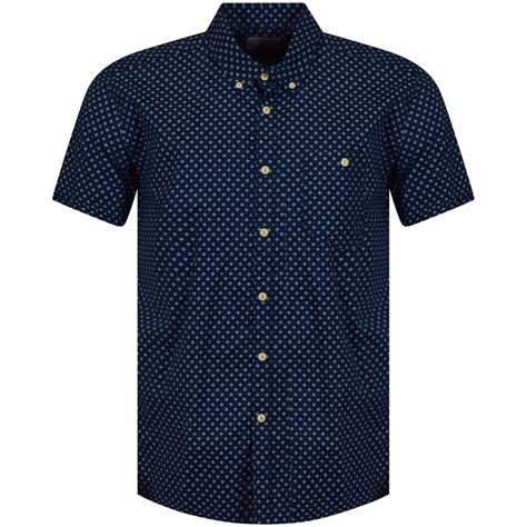 jeans pattern shirt barbour heritage barbour heritage navy pattern short