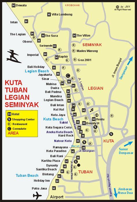 rabasta resort kuta map kuta legian map maps of bali