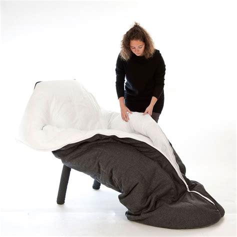 sleeping armchair superette cocoon armchair is a sleeping bag cum recliner