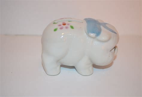 japanese piggy bank japan vintage miniature piggy bank