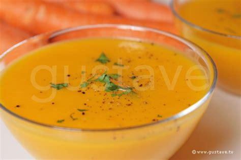 gaspacho de carottes et c 233 leri velout 233 glac 233 la recette