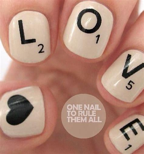 scrabble nail monday scrabble nails shopmieux
