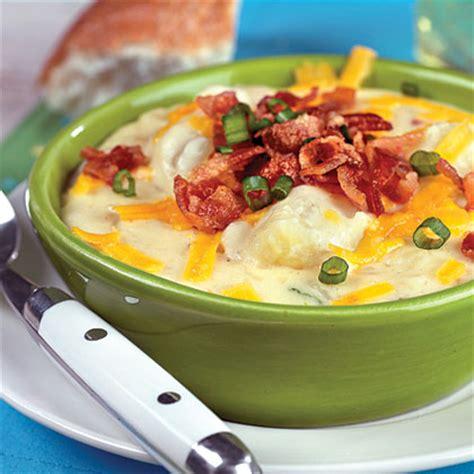 cooking light baked potato soup baked potato soup recipe myrecipes